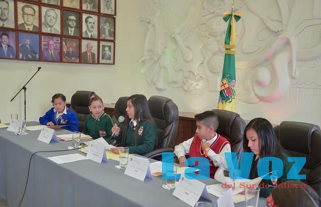 Alumnos del Colegio México participan con entusiasmo en Ayuntamiento Infantil