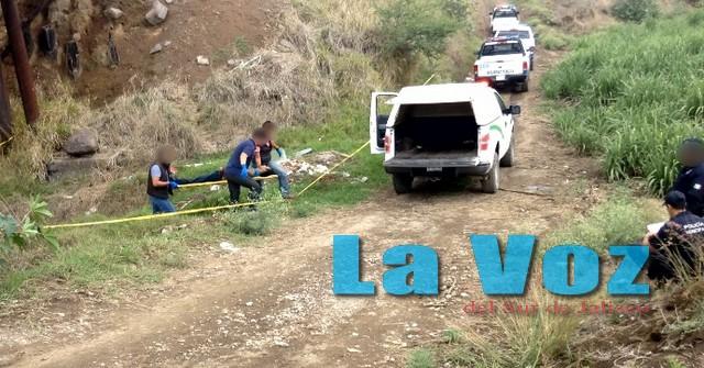 Hallan el cuerpo de un hombre que fue ejecutado a golpes en Zapotiltic
