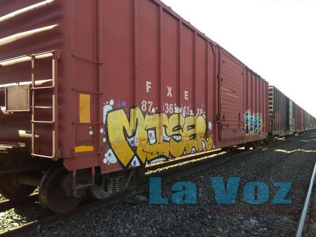 Localizan los restos de un hombre en el interior de un vagón